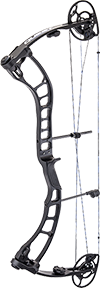 "18 Quest Amp Bow Solid Black Right Hand 29"" 70#"