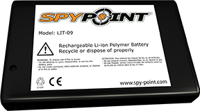 * SpyPoint LIthium Battery Pack