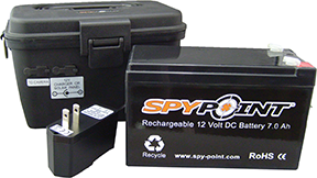 * SpyPoint Rechargeable Batter 12 Volt w/Charger
