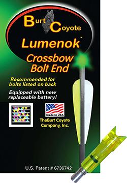 Lumenok Crossbow Nock Green Easton/Beman Moon 3 pk.