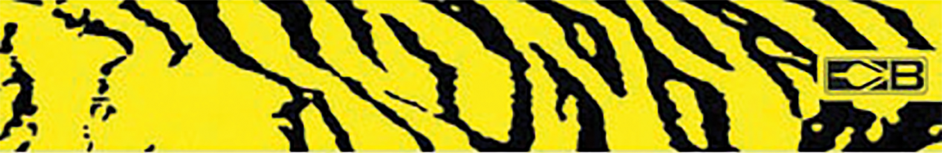 "Bohning 7"" Standard Printed Arrow Wrap Yellow Tiger"