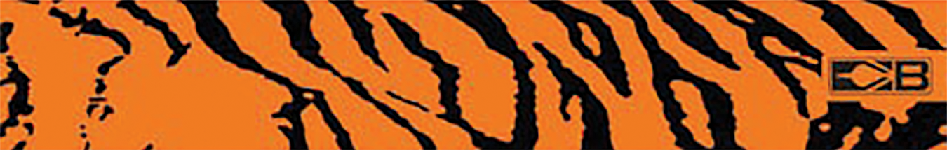 "Bohning 7"" Standard Printed Arrow Wrap Orange Tiger"