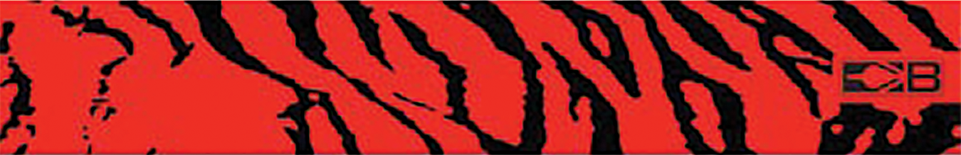 "Bohning 7"" Standard Printed Arrow Wrap Red Tiger"