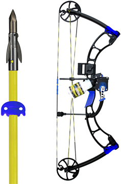 AMS E-Rad Eradicator Bowfishing Bow Kit Left Hand