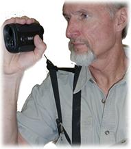Crooked Horn Bino-System w/Rangefinder Holster Black