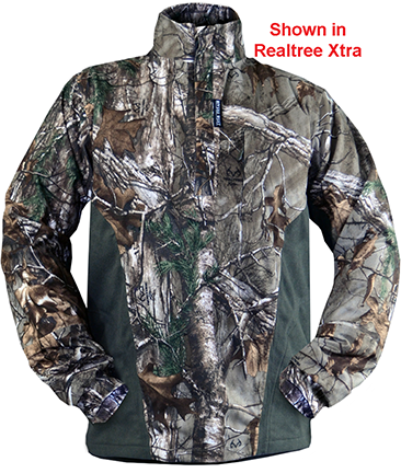 Isolation Pullover Fleece Mossy Oak Country Medium