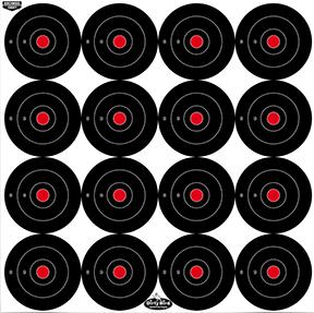 "BC Dirty Bird 3"" Bullseye Target"
