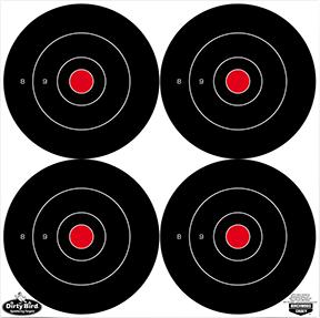 "BC Dirty Bird 5.5"" Bullseye Target"