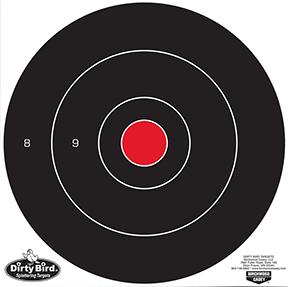 "BC Dirty Bird 12"" Bullseye Target"