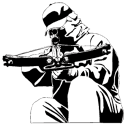 Crossbow Decal 6x6
