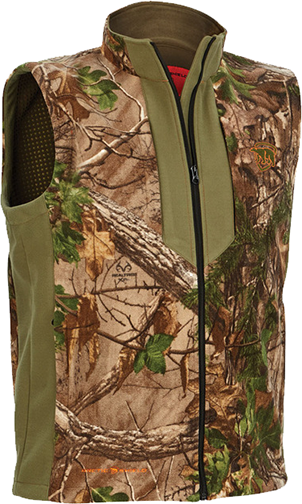 Heat Echo Fleece Vest Realtree Xtra Camo Large