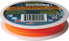 AMS Line for Retriever 25 Yards 200# Orange