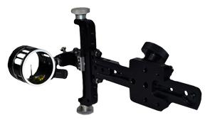 Sword Titan II Sight w/Scope Black 1 Pin .019 RH