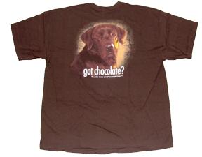 Got Chocolate Tshirt XL