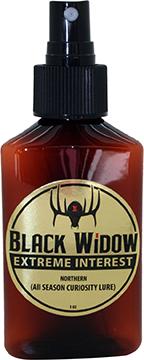 Black Widow Extreme Interest Deer Lure Northern 3 oz.
