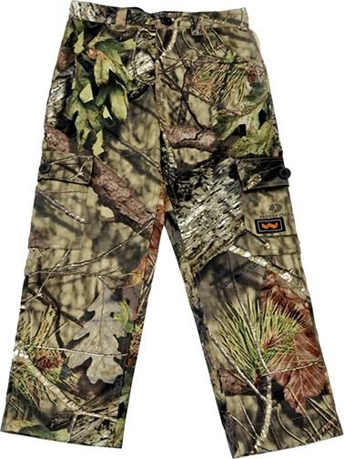 Youth 6 Pocket Cargo Pants Mossy Oak Country Large