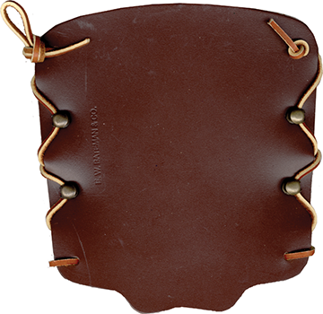 Bateman Laced Armguard Brown 7 in.