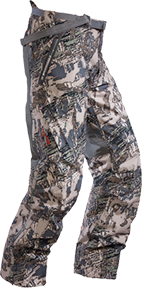 Sitka Cold Front Bib Pant Open Country Medium