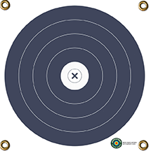 Arrowmat Foam Target Face 40 cm Blue 17x17 in.