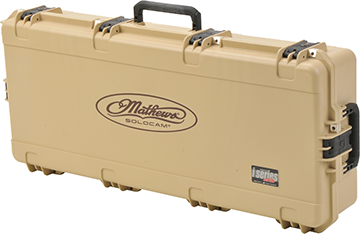 *M SKB Mathews iSeries Bow Case Tan Large