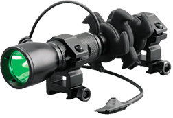 * NAP Apache Predator Crossbow Flashlight Green LED