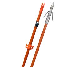Fin-Finder Raider Pro Arrow Orange w/Riptide Pro Point