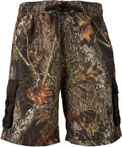 Mens Swim Shorts Breakup Camo Large