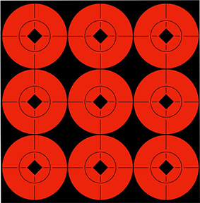 "BC  2"" Flo Red Target Spot"