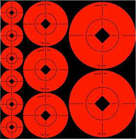 BC Assorted Size Target Spot