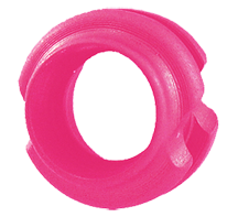 """Extreme Archery Pink 3//16/"""" Silhouette Peep Sight Bowstring Bow String"""