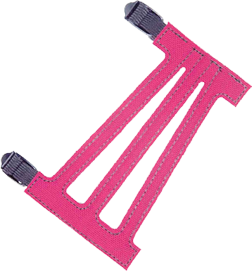 """Youth 5-1/2"""" Ventilated Pink Armguard"""
