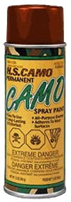 *12oz Mud Brown Camo Spray Paint
