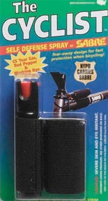 * The Cyclist Pepper Spray Black
