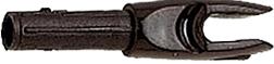 G 4mm Nock Large Groove Black