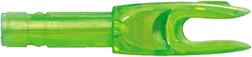 G 4mm Nock Large Groove Flo Green