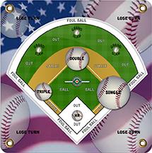 Arrowmat Foam Target Face Baseball 17x17 in.