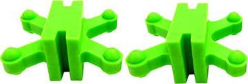 Bow Jax Revelation Limb Dampener Green 15/16 in 2 pk.