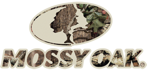 Mossy Oak Camo Logo Large 16x7.35 Decal