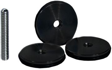 Dead Center Custom Balance Weights Black 1 oz. 3 pk.