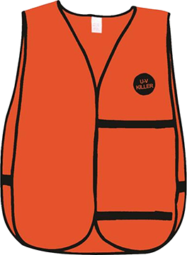 Atsko U-V Killer Treated Vest Blaze Orange