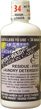 Atsko Sport-Wash Carbon Care Laundry Detergent 1 L
