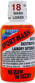 Atsko Sport Wash Laundry Detergent All Sports 18 oz.