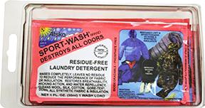 Atsko Sport Wash Laundry Detergent 1 oz. 10 pk.