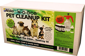 Atsko N-O-Dor Pet Cleanup Kit