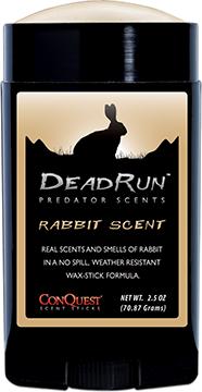 ConQuest Dead Run Scent Stick Rabbit