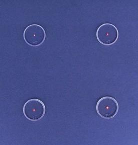 S&S TG 2X Glow Lens 1-5/8 Green