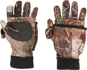Arctic Shield Tech Finger System Gloves Realtree Edge Lg