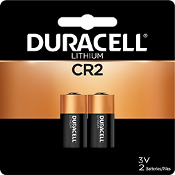 * Duracell Lithium Battery CR2 2 pk.