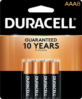 Duracell Coppertop Battery AAA 8 pk.