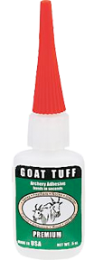 * Goat Tuff GLue 7gm Bottle
